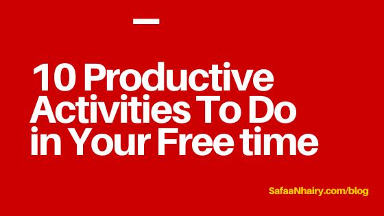 Productive Activities