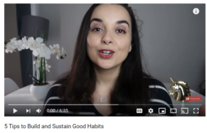 Build and Sustain Good Habits